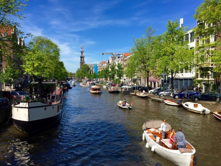 Amsterdam & Glasgow